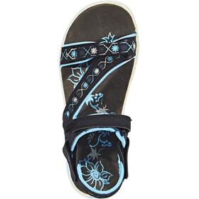 Hi-Tec Soul-Riderz Life Strap Sandals Women Black/Forget Me Not